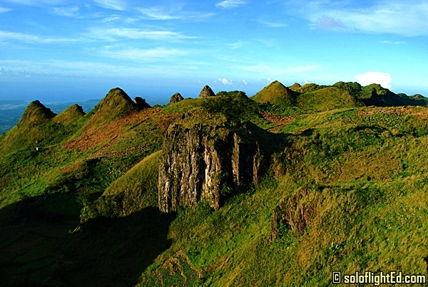 Osmania Peak is the highest point of Cebu