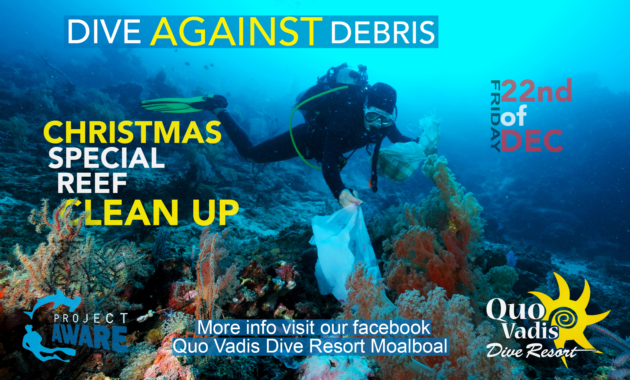 Christmas Reef Clean up - 22qnd of December 2017
